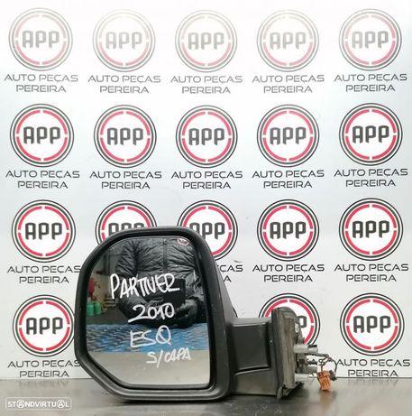 Espelho esquerdo Berlingo / Partner 2010, eléctrico sem capa.