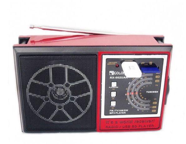Радиоприёмник GOLON RX-9922, RX 002 , RX 98, USB/SD/FM, колонка радио