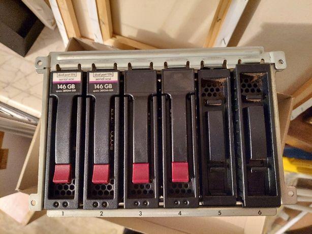 Serwer HP ProLiant ML350 G5 części