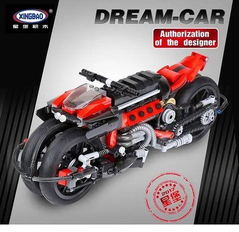 Конструктор xingbao Мотоцикл Peregrine Falcon 680 деталей