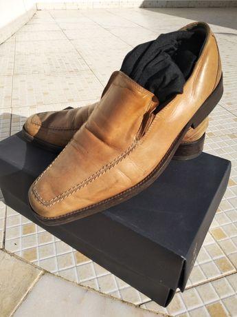 Oportunidade negócio bom preço sapato/s couro pele