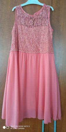 Продам персиковое платье