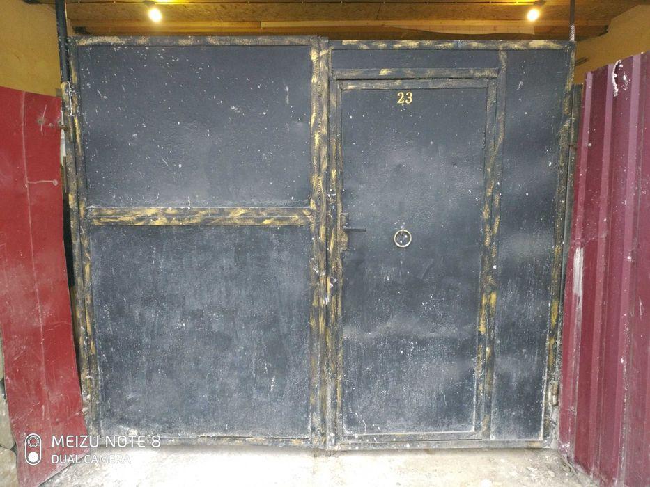 Ворота железные с калиткой Одесса - изображение 1