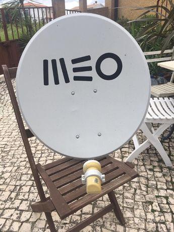 Parabólica TV Satélite MEO, LNB Universal