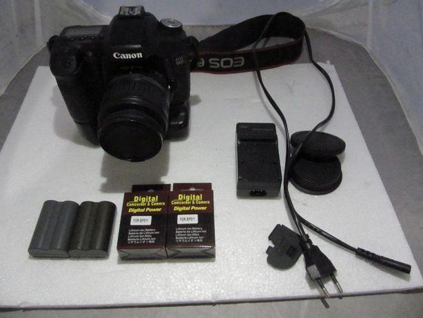 Aparat lustrzanka Canon 50D + grip BG-E2N + 4 baterie