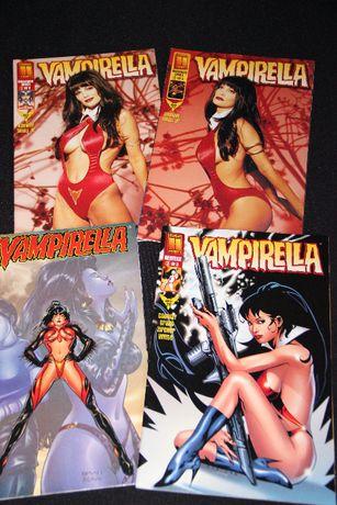 Banda desenhada vampirella - inglês - 4 volumes - 1999