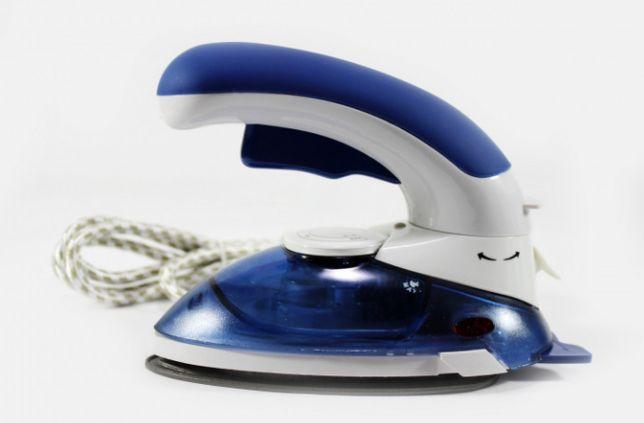 Утюг дорожный отпариватель для одежды Horton HT 558 B Синий