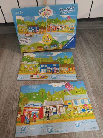 Puzzle 3+ panoramiczne