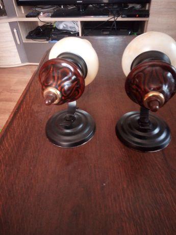 Dwie lampy kinkietowe wewnętrzne