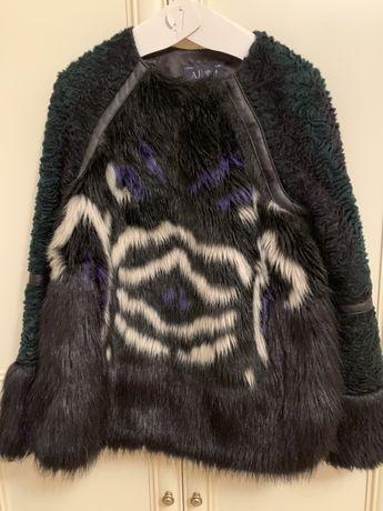 Куртка из эко меха Armani Jeans