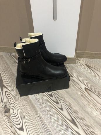 Зимние мужские фирмовые ботинки