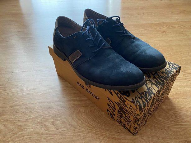 Продам туфли темно синие