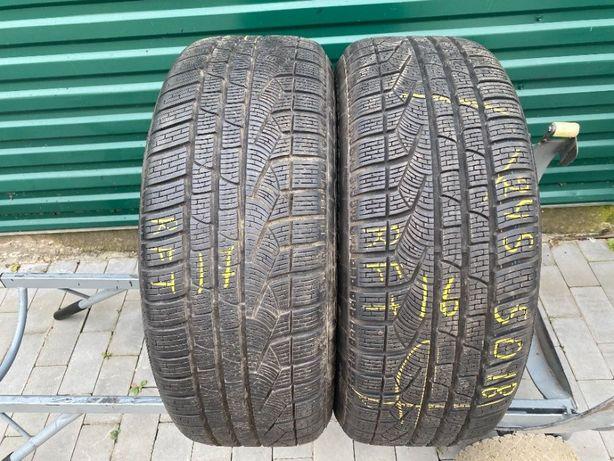Шини зимові бу 245/50R18 Pirelli Sottozero2 2шт 7,5мм 16,17рік RFT