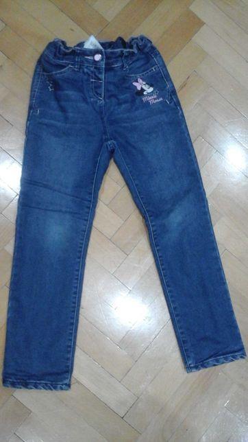 Ocieplane jeansy Disney C&A 122