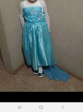 Strój karnawałowy Elsa