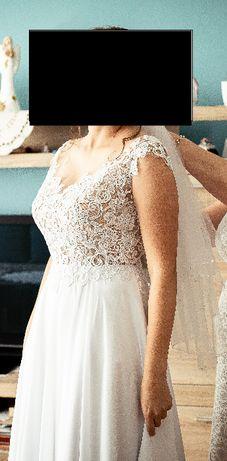 Biała suknia ślubna-sprzedam!!