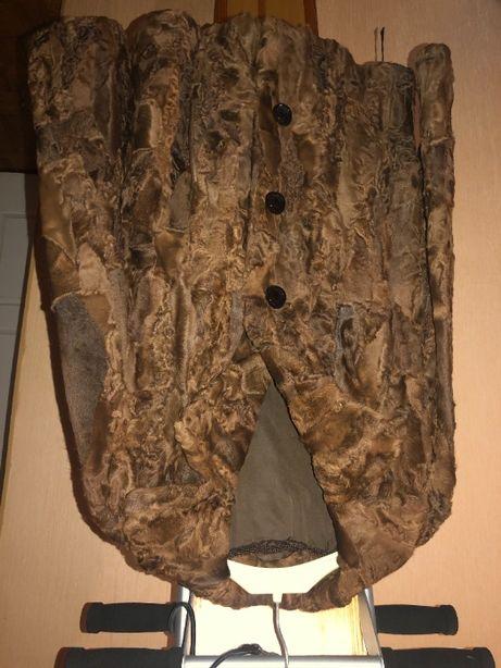 куртка короткая мех