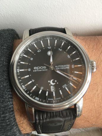Часы EPOS 24h с автоподзаводом, Швейцария, Swiss