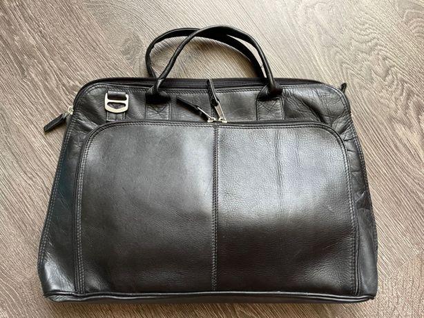 Мужская кожаная сумка, Latico США, оригинал