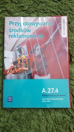 Przygotowywanie środków reklamowych A.27.4