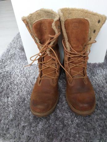 Продам зимние, женские ботинки Timberland (оригинал)