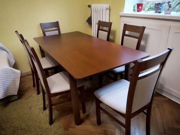 Rozkładany stół DOVER wiśnia Primavera (140/180x76x90 cm)