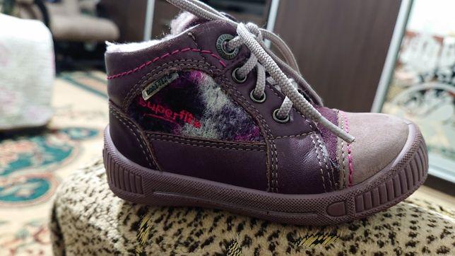 Superfit gore-tex ботинки демисезонные утепленные осенние весенние