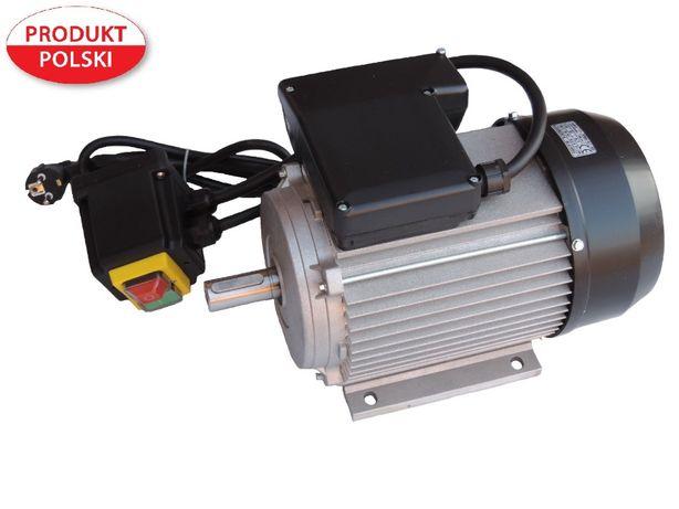 silnik elektryczny 1 faz wyłącznik 1,5 kW FV 230V betoniarka