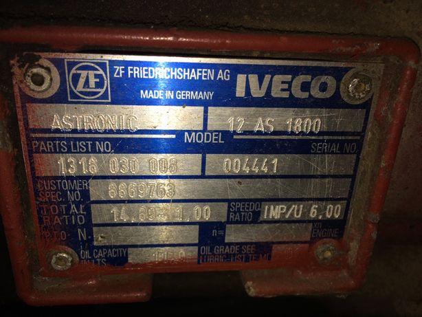 коробка передач zf astronic 12 as 1800