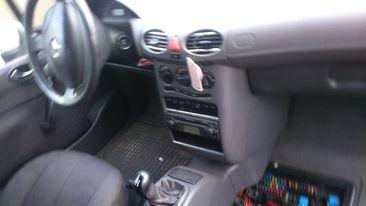 Mercedes A-Klasa W168 fotele, tapicerka, listwy progowe