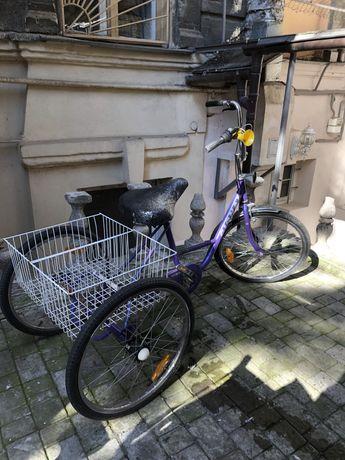 Трехколесный велосипед для взрослых Shimano Nexus