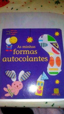 Livro As Minhas Formas Autocolantes