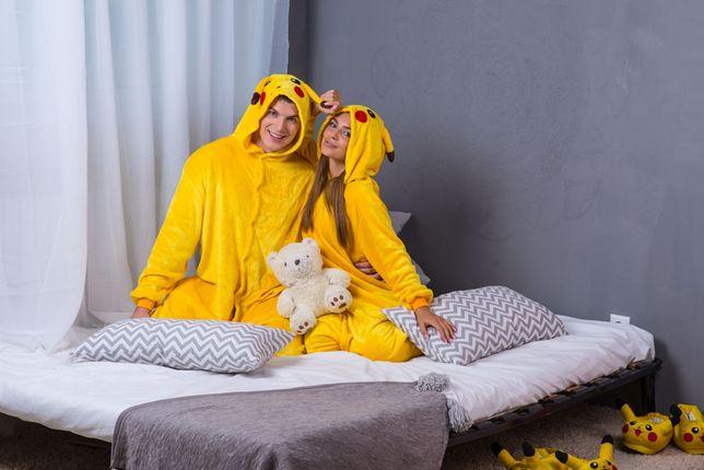 Кигуруми ОПТ, ДРОП! пижама пикачу, тапки единорог, жираф, стич