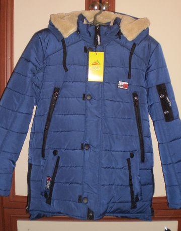 Зимняя куртка (парка) для мальчика. Р. 34-44. ОПТ, розница. До 01.11.