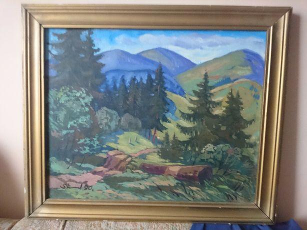 Картина маслом на холсті