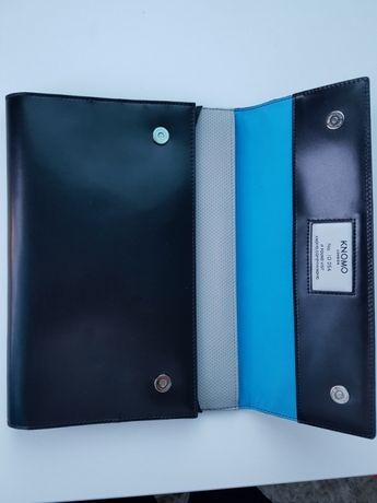 KNOMO AIR10 ORGANIZER SKÓRZANY na ipad tablet skóra nowy pokrowiec etu