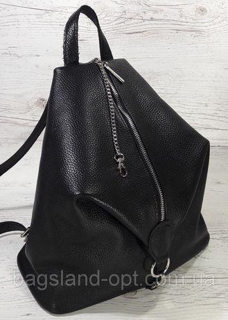 Бесплатная доставка до 08.06! Стильный женский кожаный рюкзак.