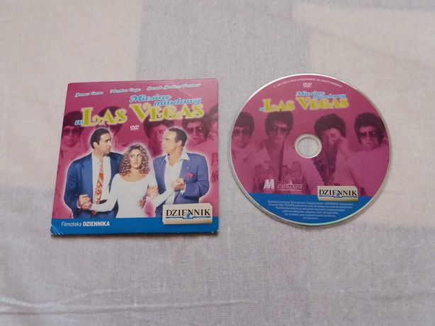 DVD film Miesiąc Miodowy w Las Vegas 1992 Cage bdb
