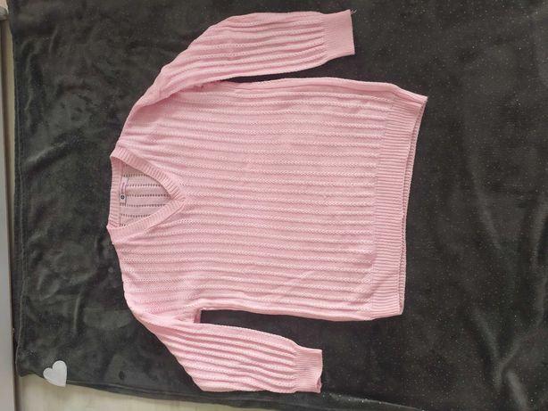 Sweter różowy r. L