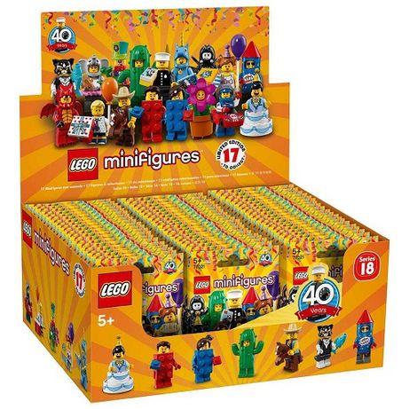 Lego Minifiguras 71021 Serie Aniversario - Caixa com 60 Saquetas