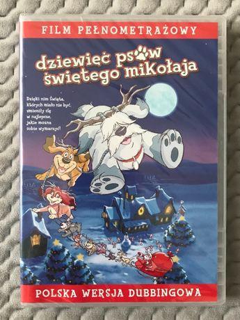 """""""Dziewięć Psów Świętego Mikołaja"""" - Bajka DVD (polski dubbing)"""