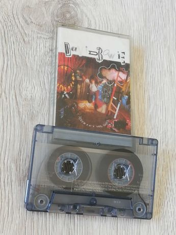 Kasety David Bowie - Never let me down. Isze wydanie 1987!