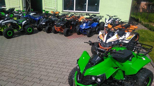 Quad 125cc dla dzieci KXD Raty Raty kredyt transport