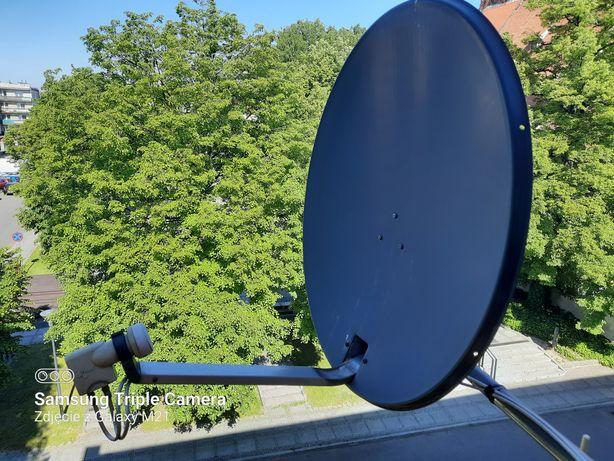 Antena satelitarna Triax z uchwytem