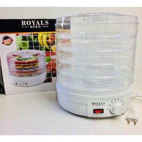 Сушилки для овощей и фруктов Royals Berg Rb-959 электрическая 800Вт