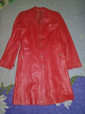 НОВАЯ Кожаная Куртка, новая со стока