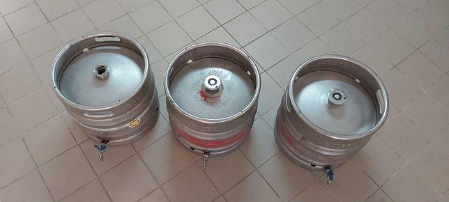 Barril inox de cerveja com torneira 30 Litros
