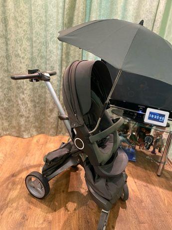 коляска stokke xplory кольору хакі
