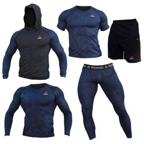 Компрессионная одежда для спортзала рашгард тайтсы одяг для тренувань