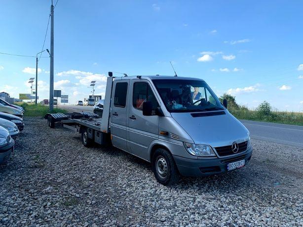 Пригон та доставка автомобілів з Європи в Україну евакуаором і лафетою
